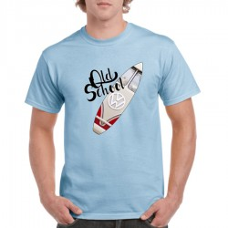 Camiseta Old  School T1 Sky
