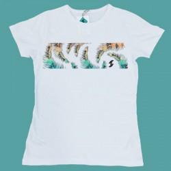 Camiseta Palmas Mujer