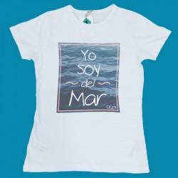 Camiseta Yo Soy Del Mar Mujer