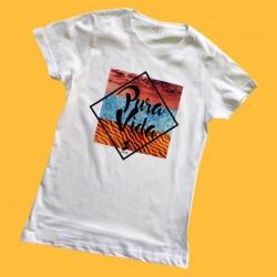 Camiseta Pura Vida Mujer