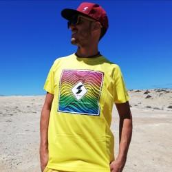 Camiseta Ondas Multicolor