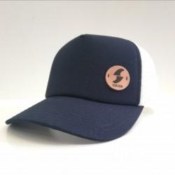 Gorra Azul Logo Cicer Cuero