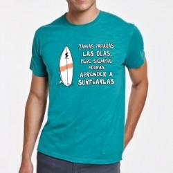 Camiseta Jamás pararás las...