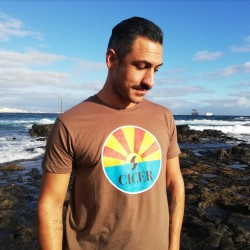 Camiseta Marrón Amanecer